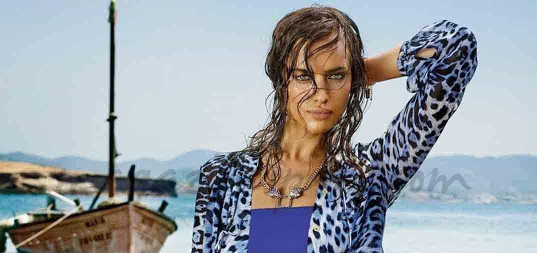 El look más salvaje de Irina Shayk