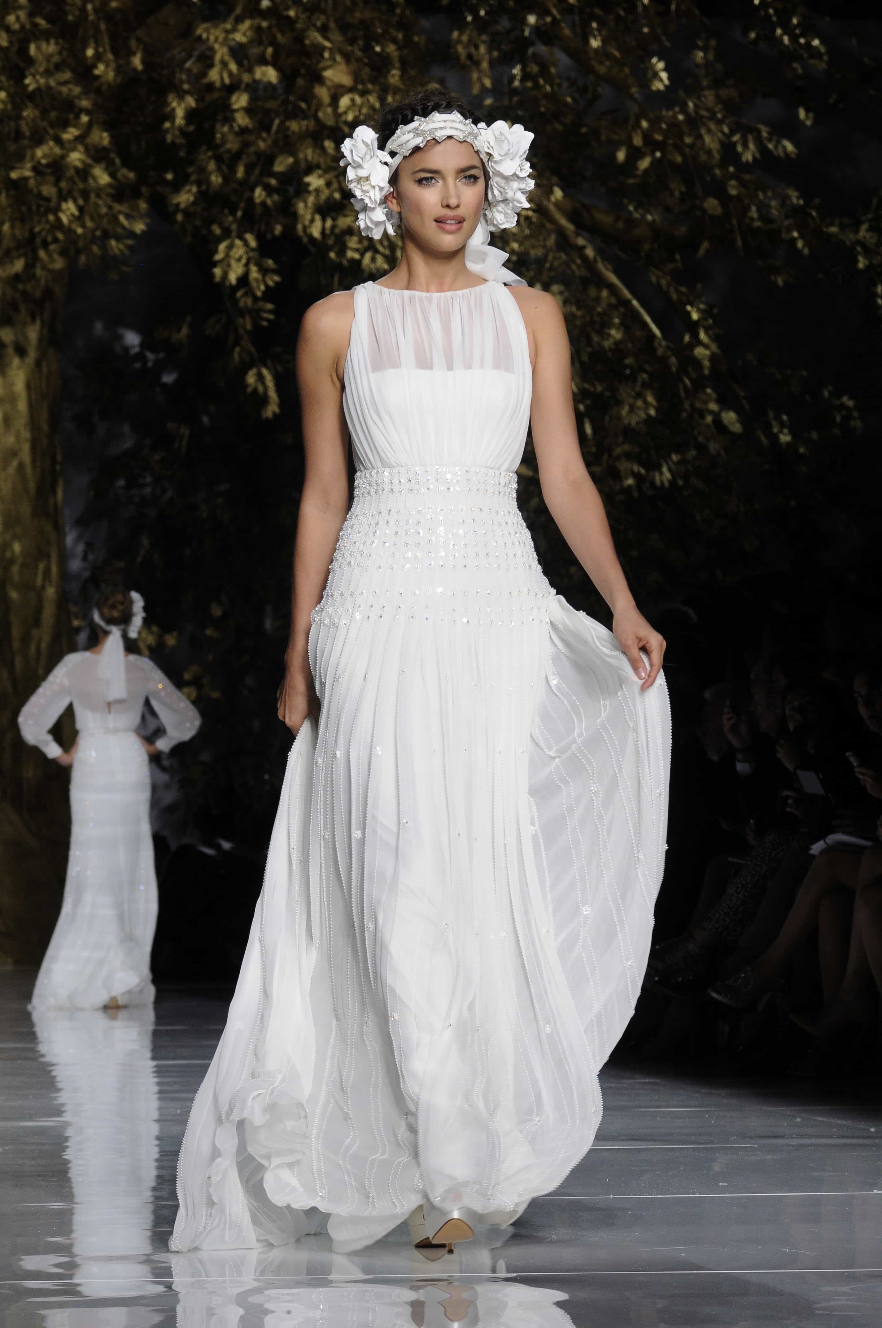 Irina Shayk se viste de novia