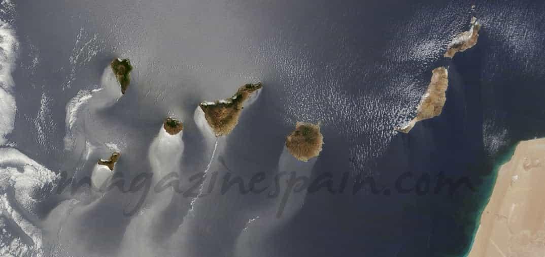 Las Islas Canarias,  de nuevo mejor imagen para la NASA
