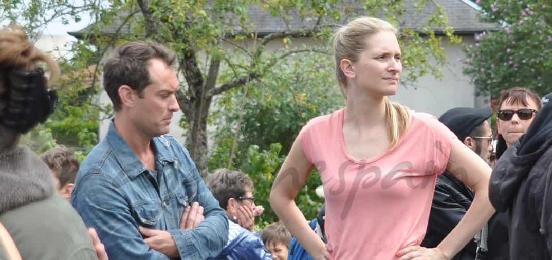 Jude Law enamorado
