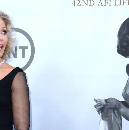 Jane Fonda homenajeada