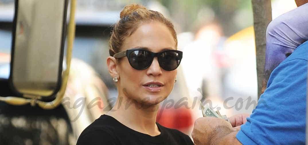 Jennifer López «de incógnito»