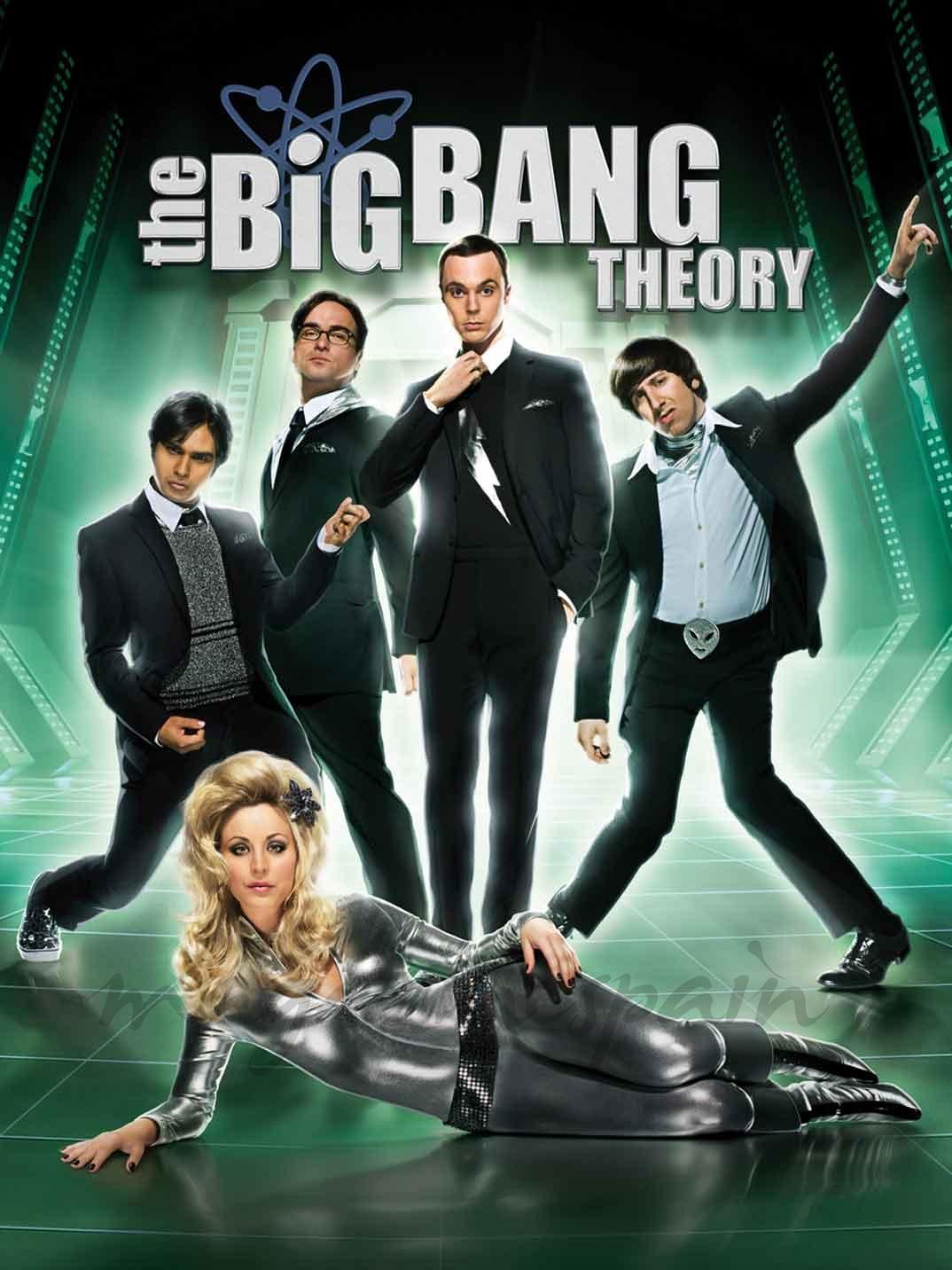 Jim Parsons, Johnny Galecki, Kaley Cuoco, Kunal Nayyar, Simon Helberg - The Big Bang Theory