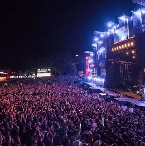Justin Timberlake ante más de 70.000 personas