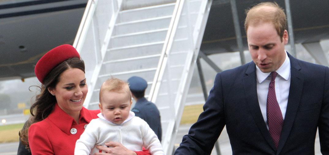 Los Duques de Cambridge y su hijo gira por Oceanía