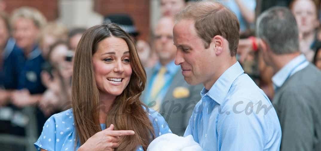 La felicidad de los Duques de Cambridge con su bebé