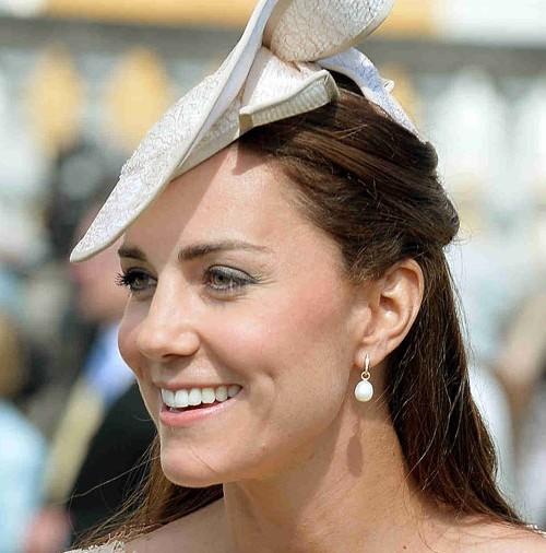 "Kate Middleton, en el ""Garden Party"" de Buckingham Palace"
