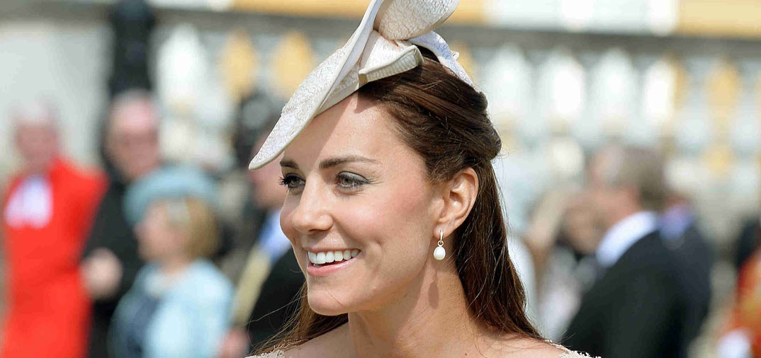 Kate Middleton, en el «Garden Party» de Buckingham Palace