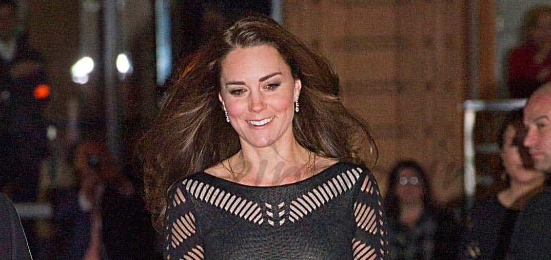 Kate Middleton radiante