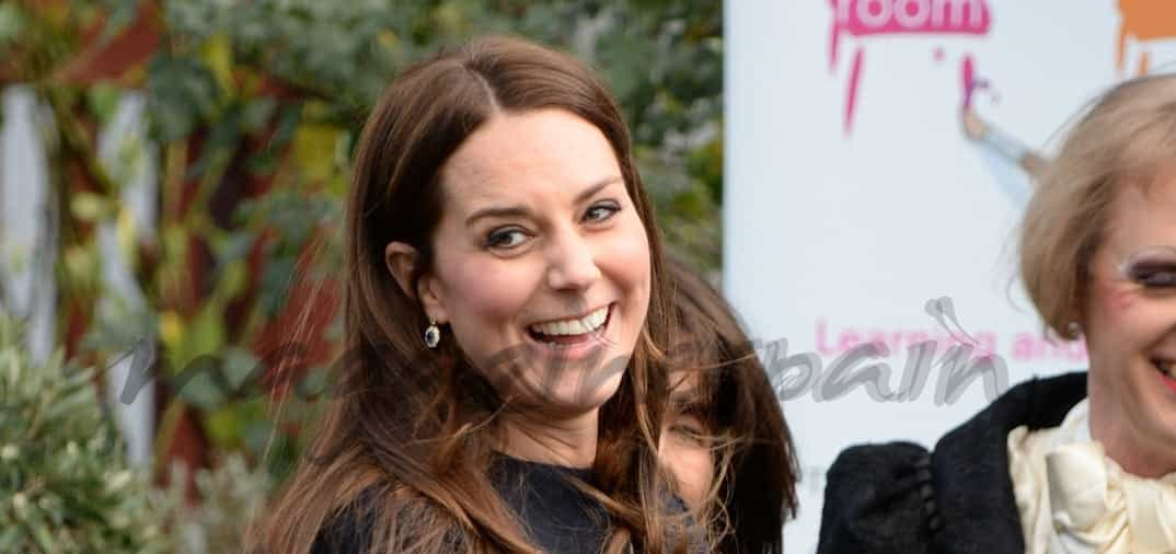 Kate Middleton presume de embarazo