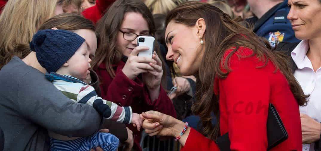 Kate Middleton se apunta a la moda de las pulseras