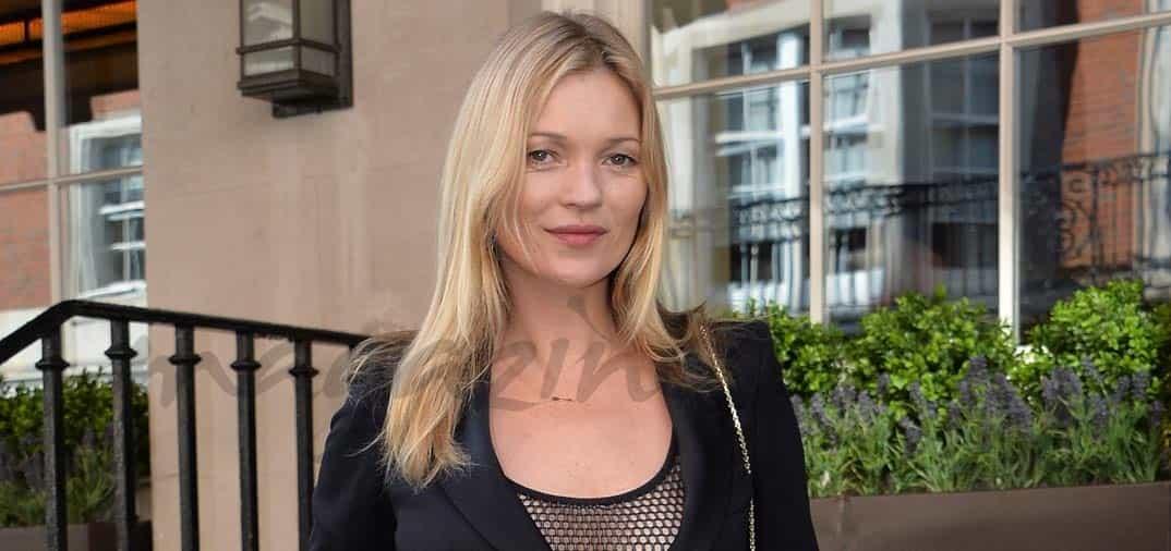 Inspirada en su seno izquierdo, Kate Moss, ya tiene su propia copa de champagne