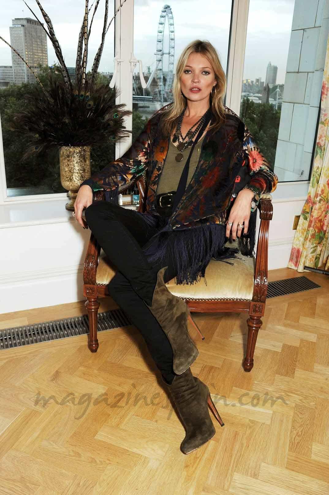 Los magníficos 40 años de Kate Moss