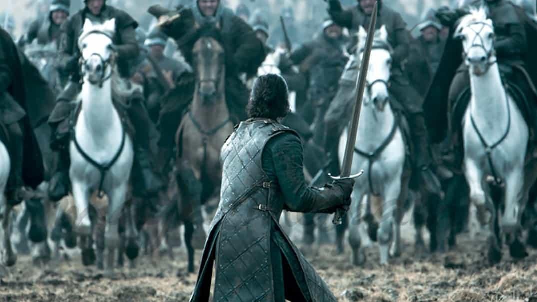 Kit Harington- Juego de Tronos- Capítulo 6x09- © HBO