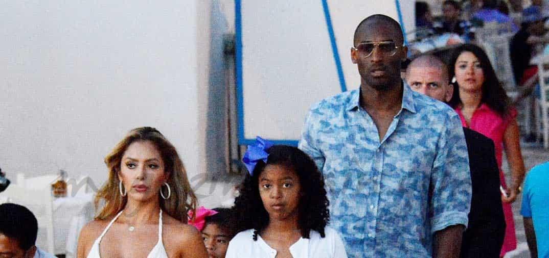 Kobe Bryant presume de familia