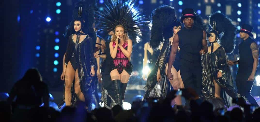 Kylie Minogue, este viernes en Ibiza