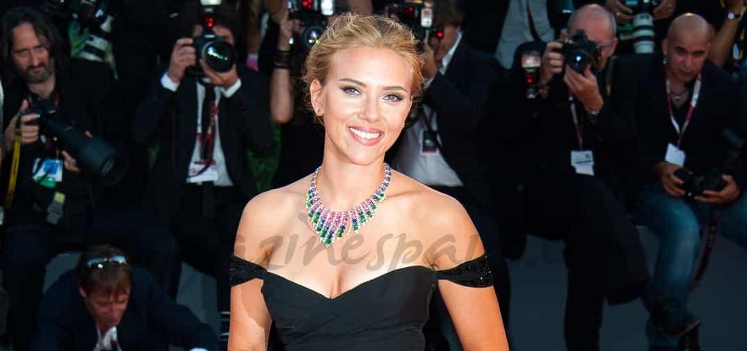Scarlett Johansson deslumbra en Venecia