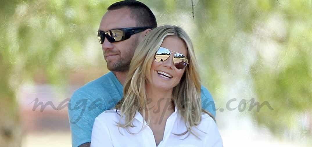 Heidi Klum y su feliz familia…