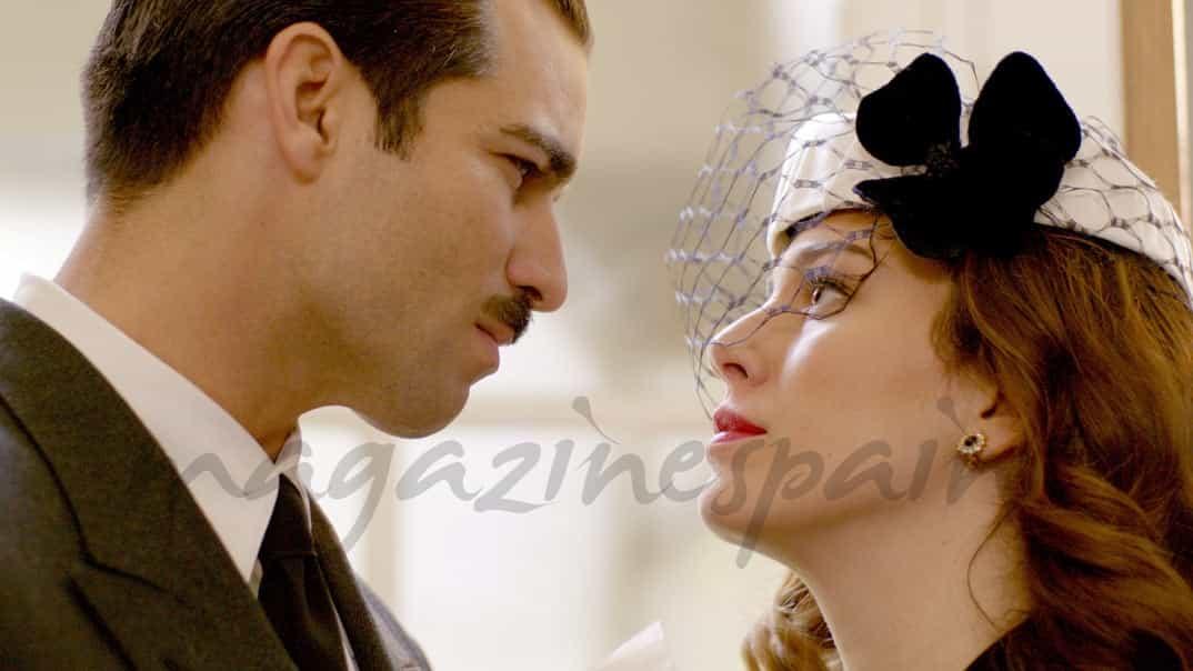 Lo que escondían sus ojos - capítulo 1 - Rubén Cortada y Blanca Suárez © Mediaset