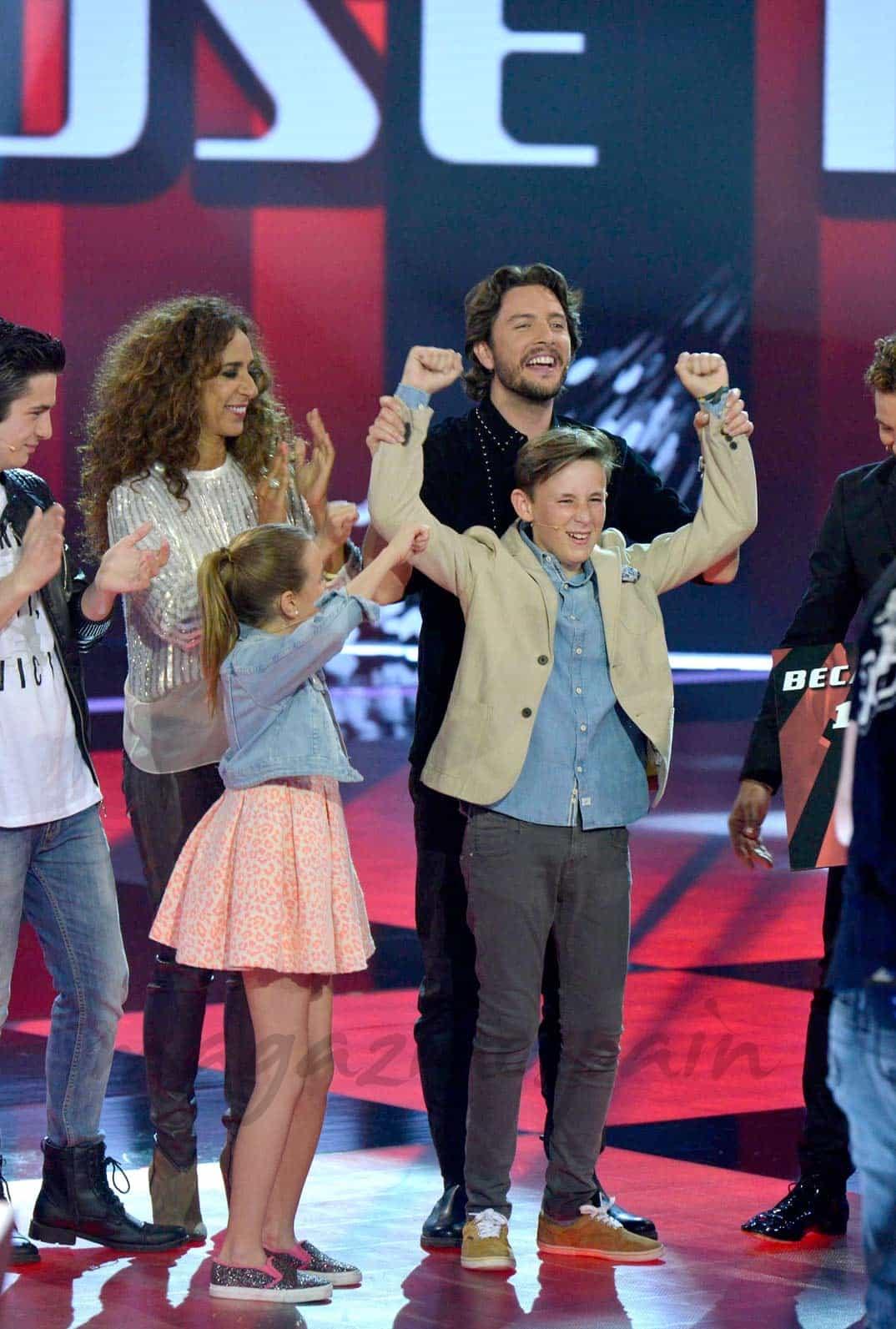 Jose María, ganador La Voz Kids II