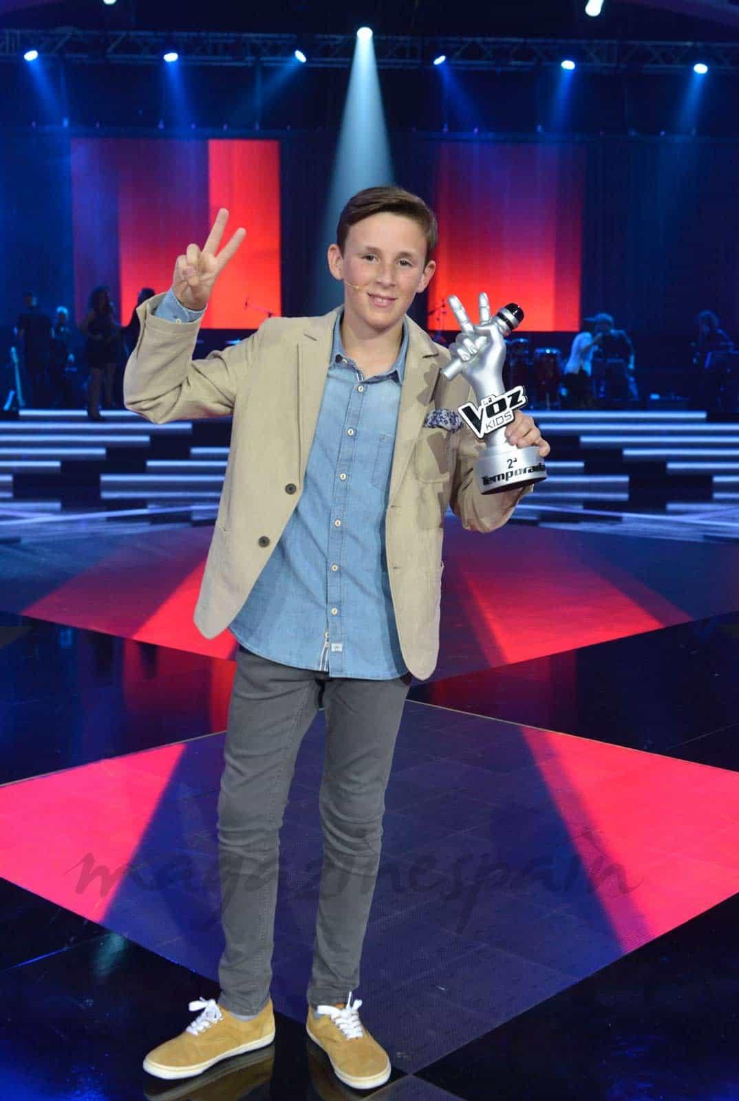 José María, ganador La Voz Kids II