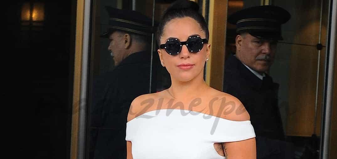 Lady Gaga, vestida de normal