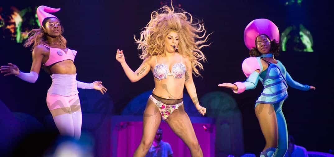 Lady Gaga «sin palabras»…