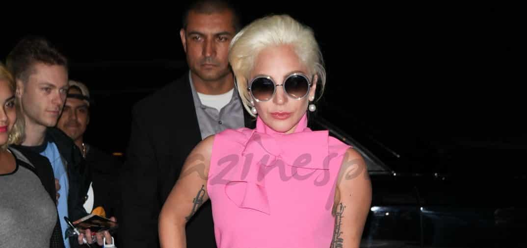 Lady Gaga de compras en Versace