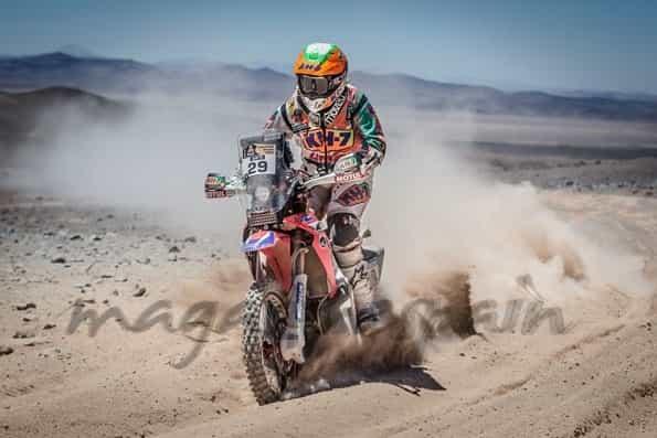 Laila Sanz en el Rally Dakar 2014 foto: web laila