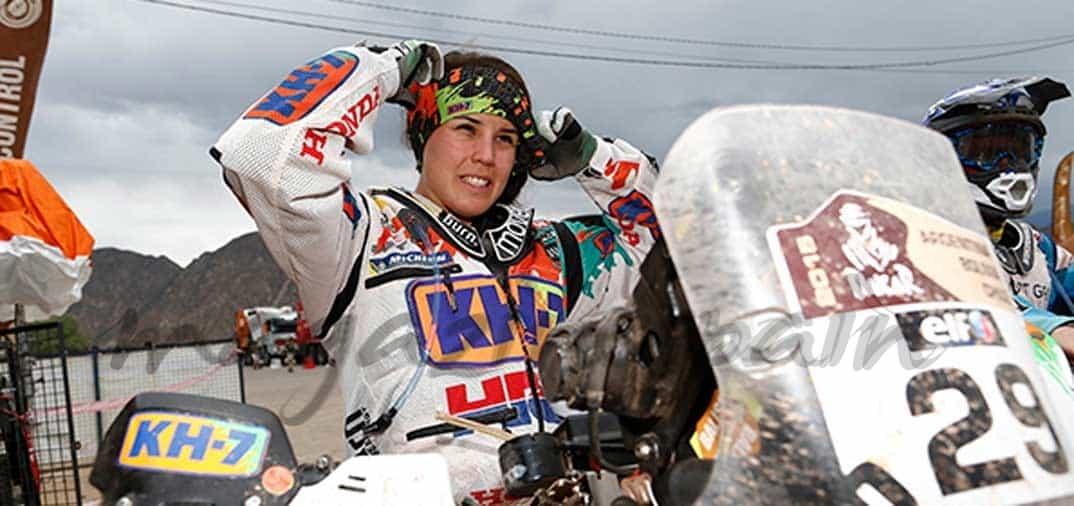 Laia Sanz asombra en el Rally Dakar