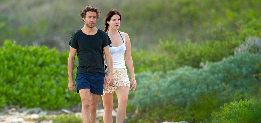 Lana del Rey y Francesco Carrozzini, románticas vacaciones en el Caribe