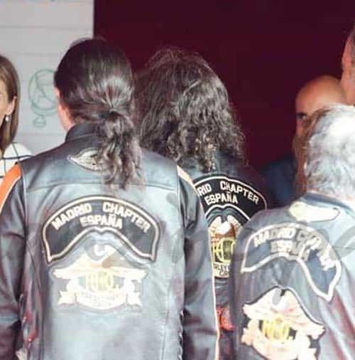 """Los rockeros con doña Letizia en la """"Fiesta de laBanderita"""""""