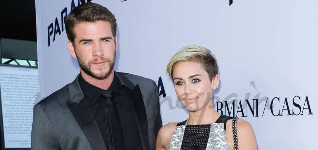 Liam Hemsworth y Miley Cyrus, de nuevo juntos