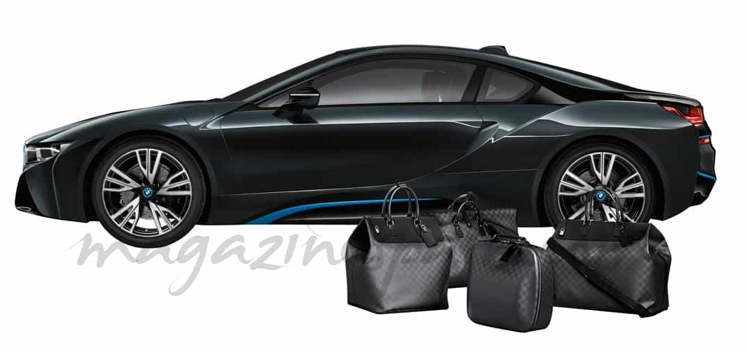 Louis Vuitton y BMW i8 pareja perfecta