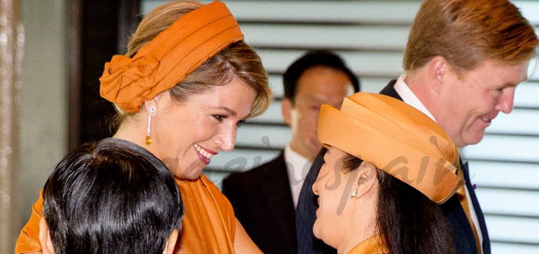 La reina Máxima la gran amiga de Masako