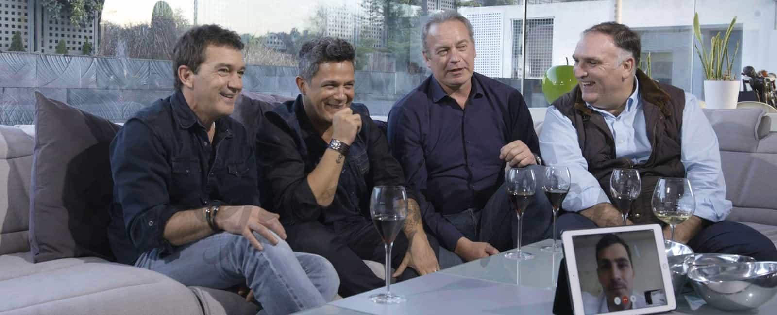 Antonio Banderas, Alejandro Sanz, Iker Casillas y José Andrés, invitados VIP en 'Mi casa es la tuya'