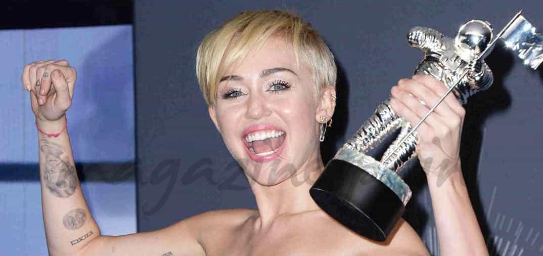 Miley Cyrus, la gran triunfadora de los premios MTV