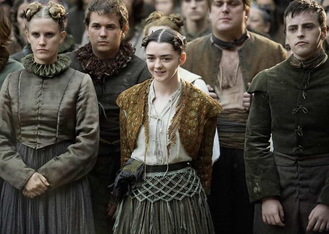 Maisie Williams - Juego de Tronos © HBO
