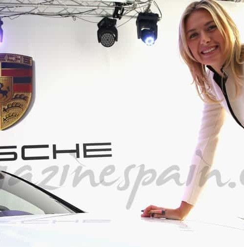 Maria Sharapova embajadora de Porsche