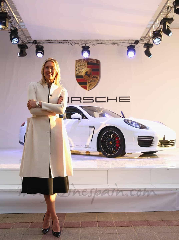 Maria-Sharapova-Porsche