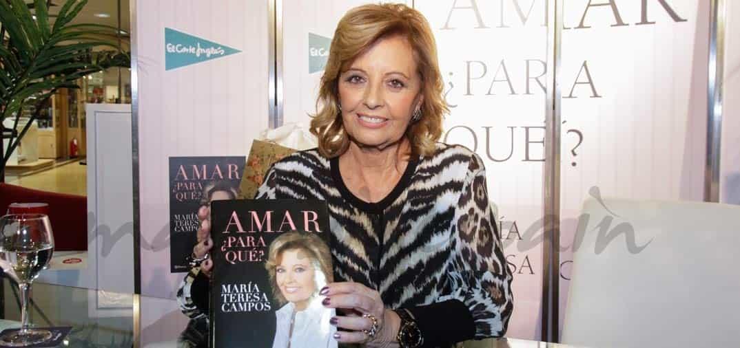 """María Teresa Campos """"Amar, ¿para qué?"""""""