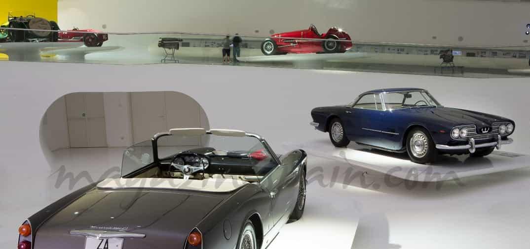 Cien años de Maserati en el Museo de Enzo Ferrari