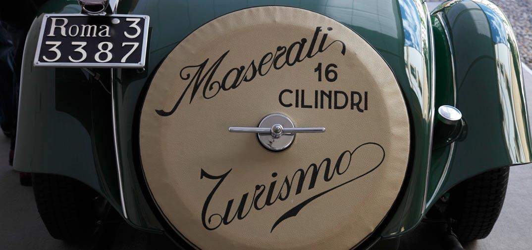 Maserati gana el «Best of Show», con su modelo de 1956, 450S