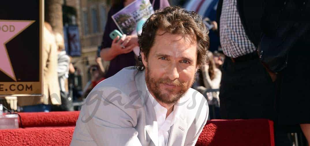 Matthew McConaughey ya tiene su estrella
