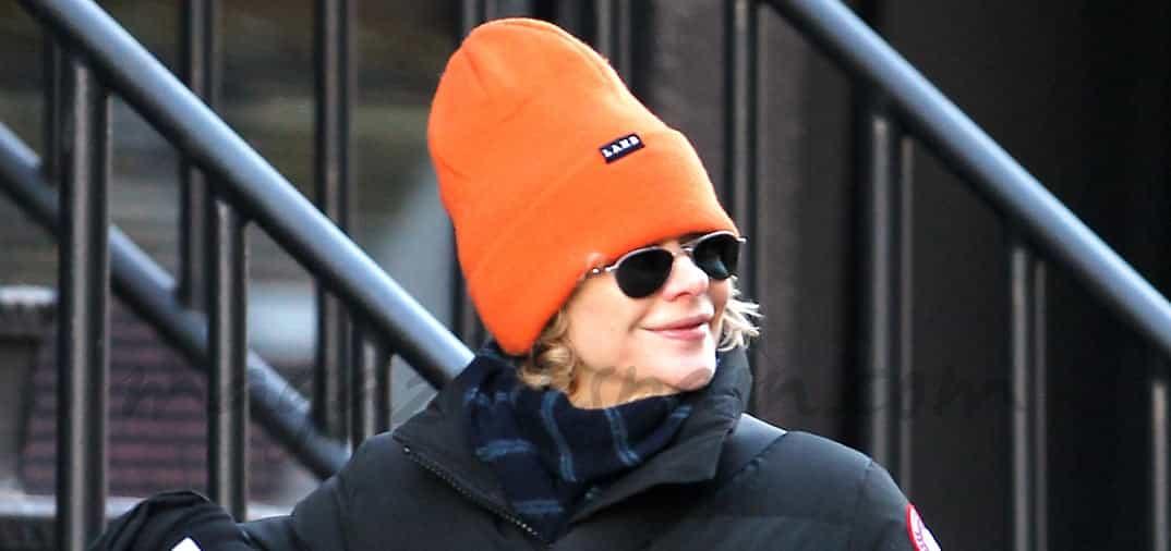 """Meg Ryan """"de incógnito"""", en New York"""
