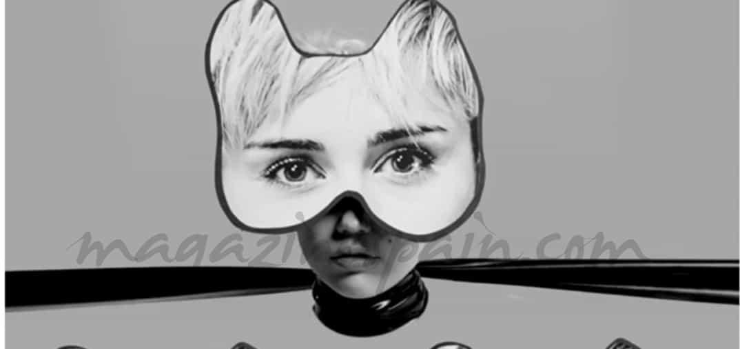 La imagen más sadomasoquista de Miley Cyrus