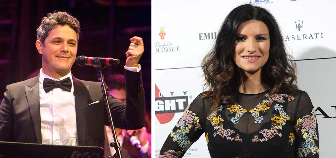 Alejandro Sanz y Laura Pausini, «coaches» de La Voz