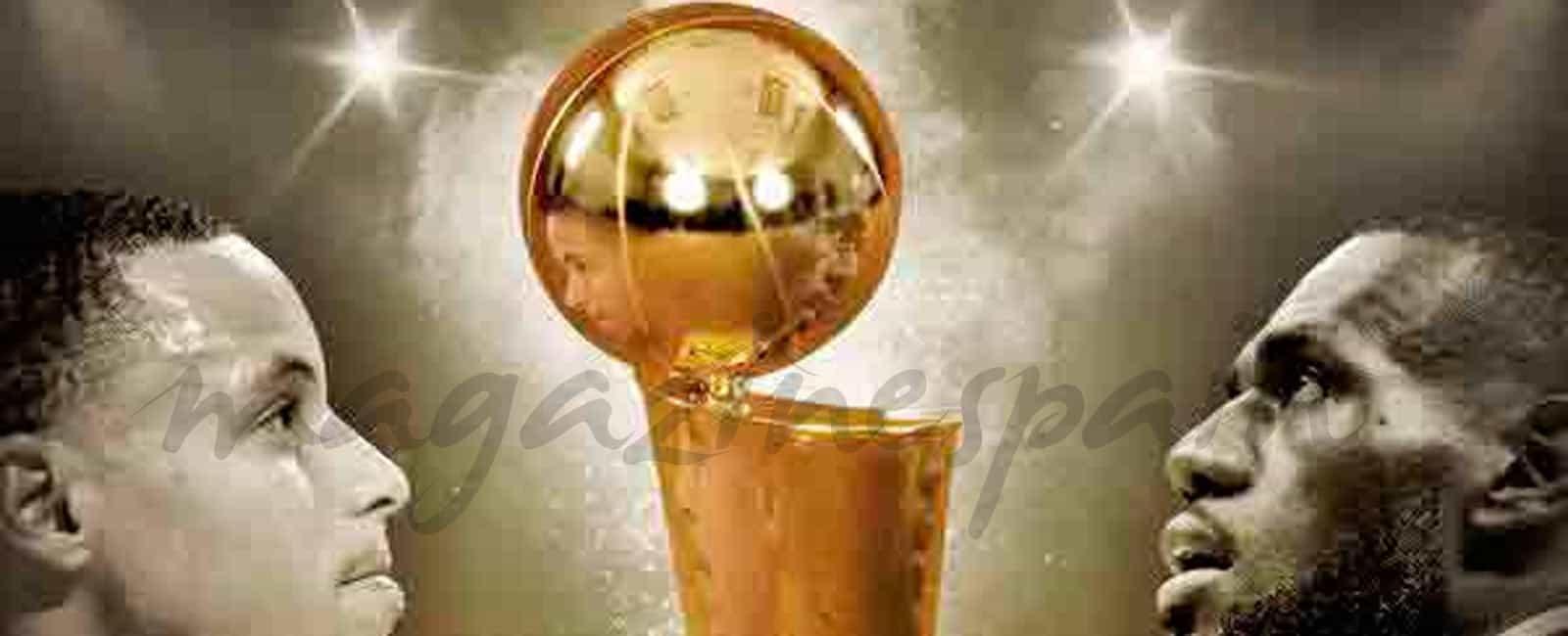 Cleveland Cavaliers y Golden State Warriors, se disputan el anillo de la NBA