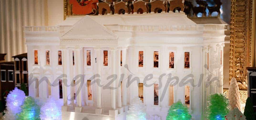 Ya es Navidad en la Casa Blanca
