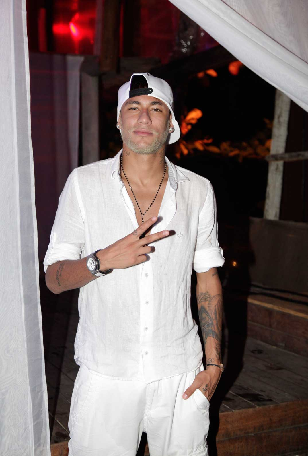El nuevo look de Neymar
